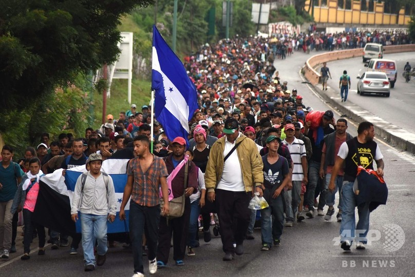 ホンジュラス移民問題、トランプ...