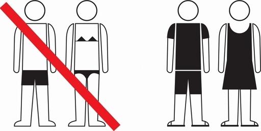 路上などでの水着着用を禁止、罰金も バルセロナ