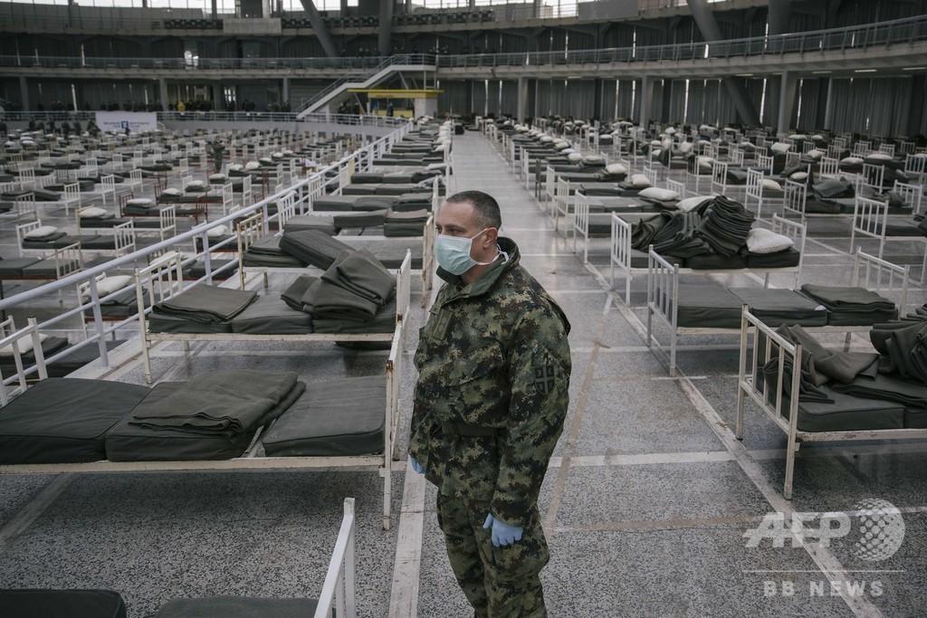 隔離命令違反で男に禁錮3年、新型コロナ対策で セルビア