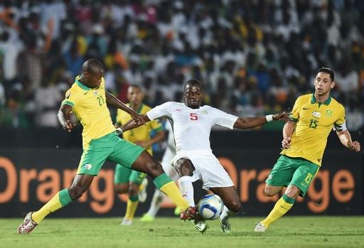 南アフリカとセネガルは引き分け、アフリカネイションズカップ