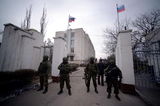 ウクライナ、CIS脱退の方針 クリミア駐屯兵撤退へ
