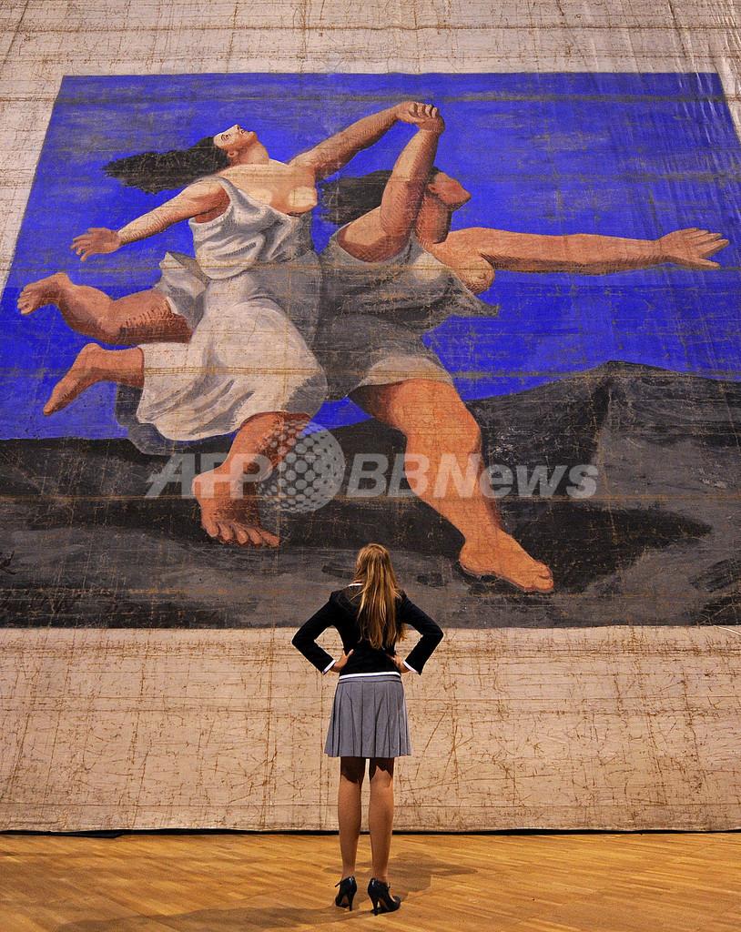 パブロ・ピカソ最大の作品、ロンドンで初公開