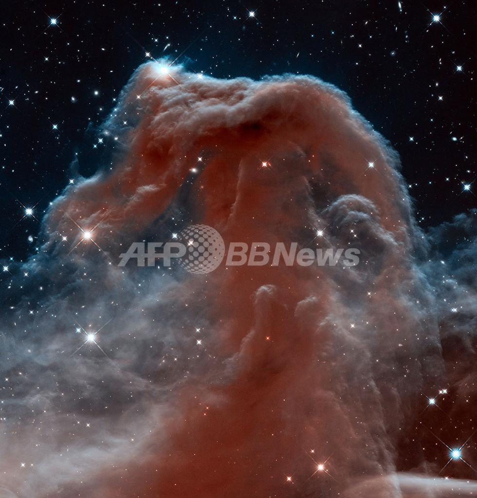 ハッブル宇宙望遠鏡が捉えた馬頭星雲、NASAが公開