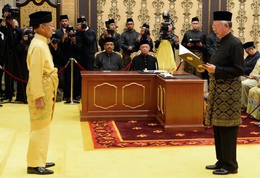 マレーシア首相、2期目の就任宣誓式 下院選勝利で