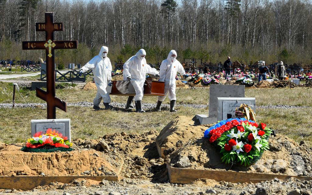 ロシアが英米紙を調査、コロナ死者数を過少報告との報道受け