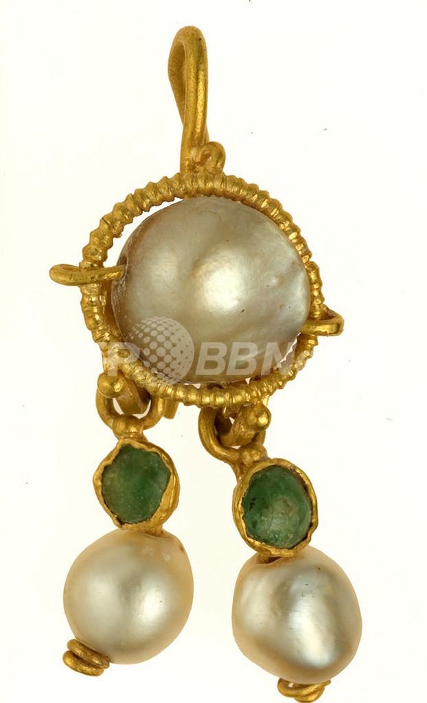 2000年前の真珠のイヤリング、エルサレムで発見