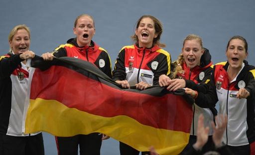ドイツがスロバキアを下し準決勝進出、フェド杯