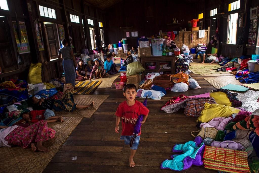 ミャンマーの「忘れられた紛争」、家を追われるカチンの人々
