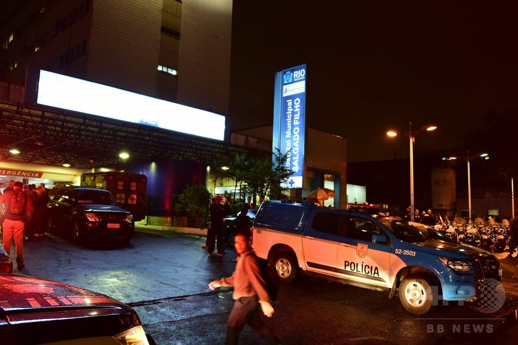 リオ五輪、警備の精鋭警官3人撃たれる スラム街に誤進入