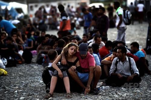 地中海渡る移民、今年は既に35万人超に 国際移住機関