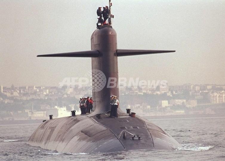 英仏の原子力潜水艦、大西洋で衝突 英大衆紙