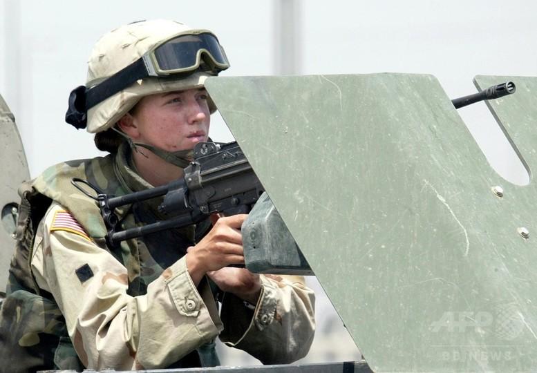 米軍、女性兵士の戦闘参加を解禁へ 歴史的方針転換