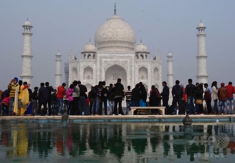インド、タージマハルで入場者数制限へ