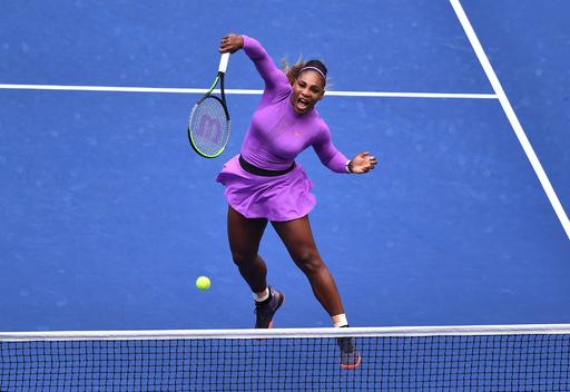 【写真特集】AFPが選んだ全米オープンテニスの「TOPSHOT」