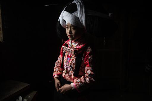 【今日の1枚】少女たちも伝統行事の仲間入り ミャオ族