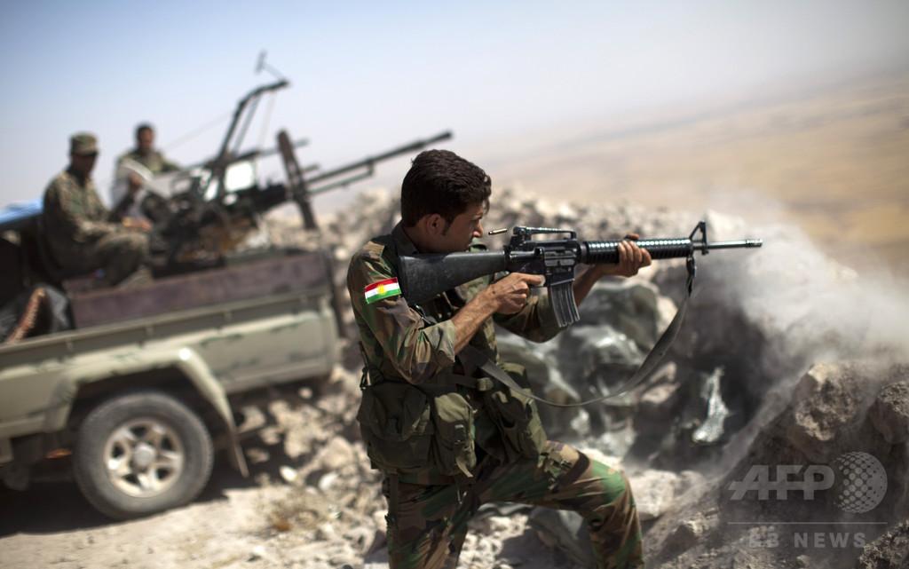 「イスラム国」掃討の有志国連合、イラクに1500人派遣へ