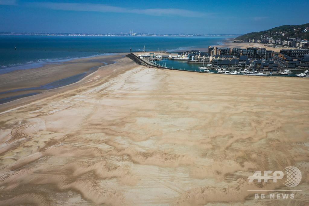 仏の一部ビーチが閉鎖解除、ジョギングや水泳はOK 日光浴はNG
