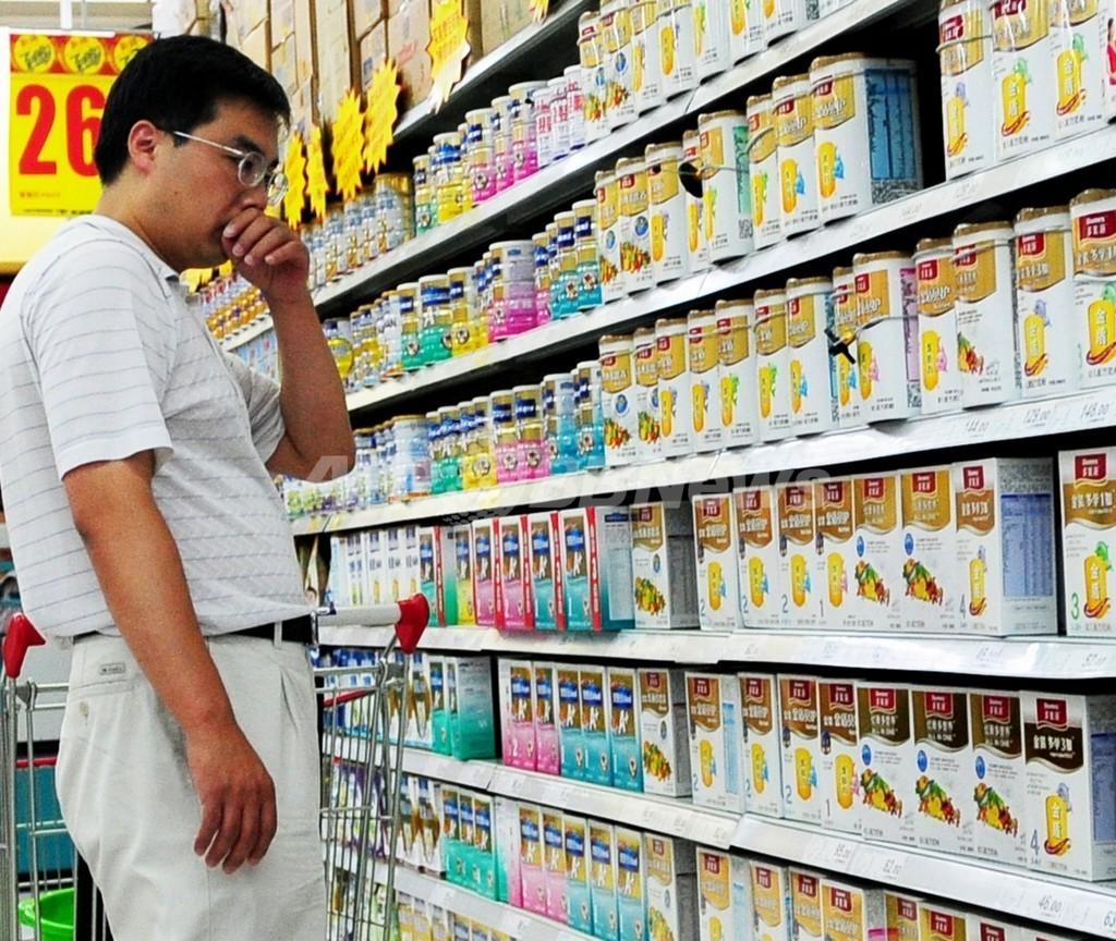 中国でまた粉ミルク汚染、7人逮捕