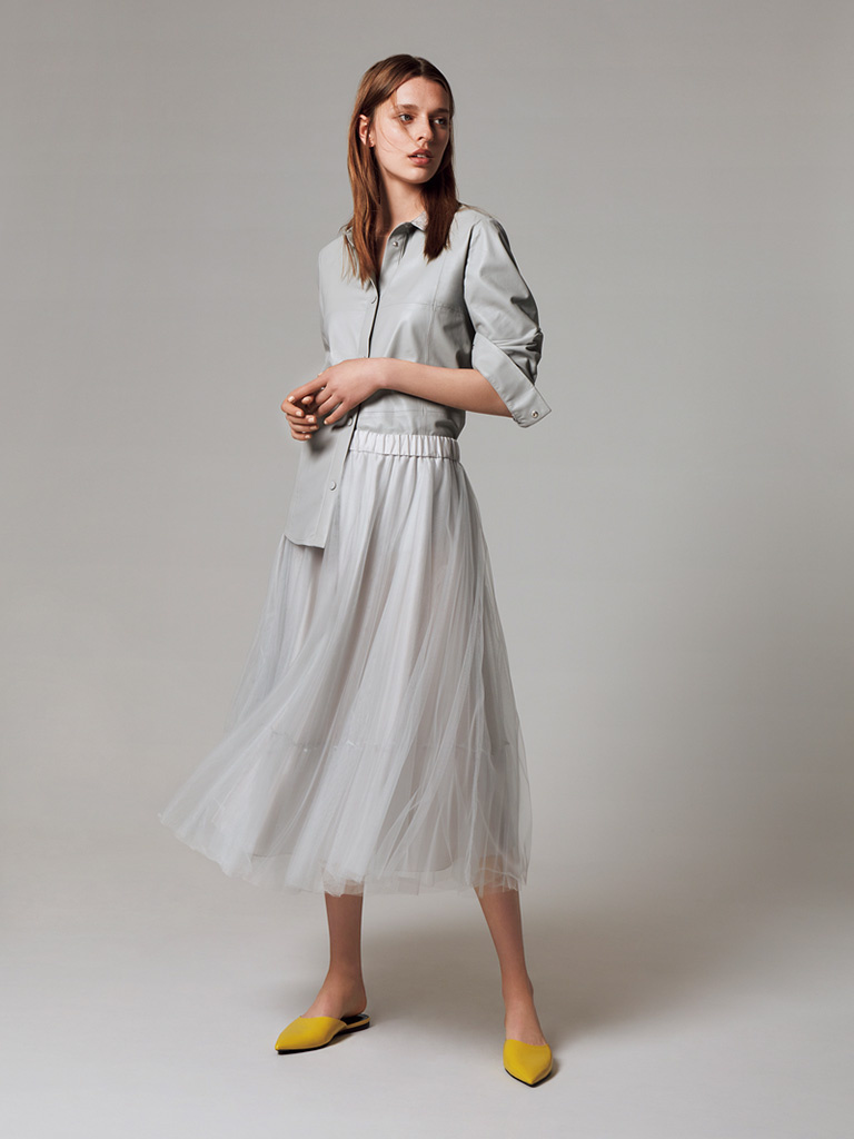 「ファビアナフィリッピ」大人の毎日を輝かせる魅惑のチュールスカート