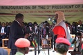 ムナンガグワ氏、ジンバブエ新大統領に就任