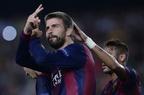 バルセロナ、ピケの得点でアポエルに辛勝 欧州CL