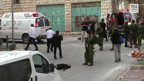 イスラエル兵、負傷パレスチナ人を「処刑」 動画公開で物議
