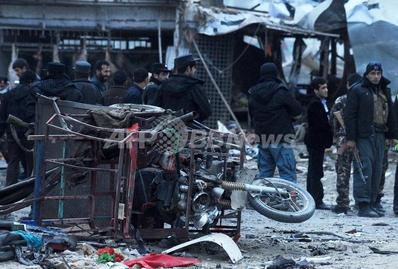 アフガンで自爆攻撃、国民大会議...