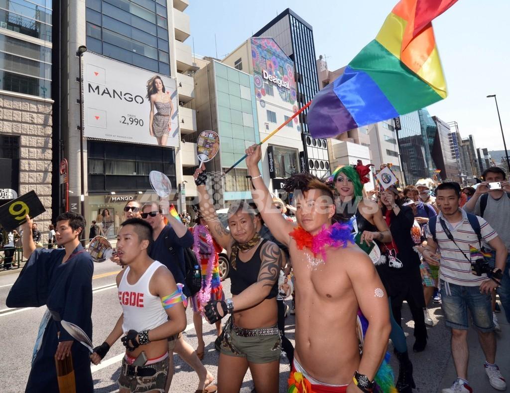 東京レインボープライド、個性も仮装もいろいろ
