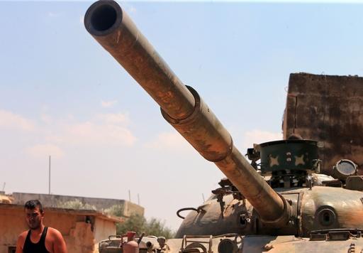 シリア反体制派、北西部イドリブ県の主要地域から撤退