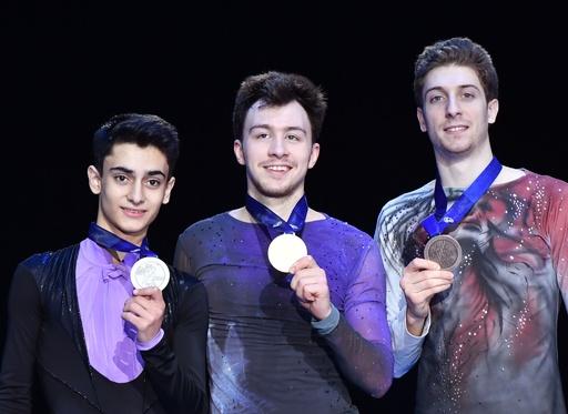 アリエフが新王者に、フィギュア欧州選手権