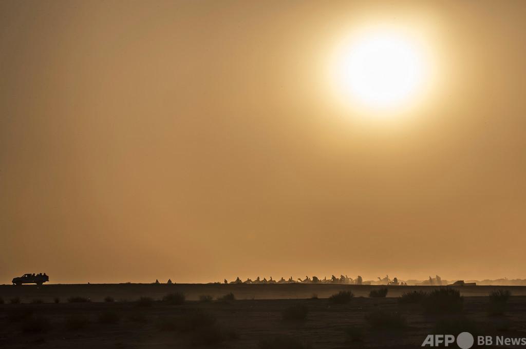 シナイ半島でPKOヘリ墜落、米国人ら8人死亡 エジプト