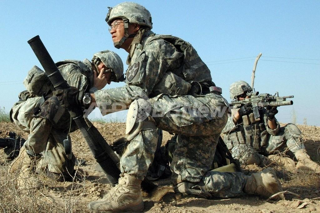 イラク駐留米軍、最後の戦闘部隊が撤収