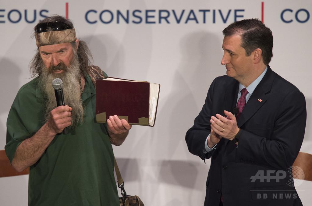 【AFP記者コラム】米大統領選の政治と宗教、共和党予備選と「聖書地帯」