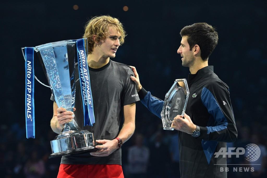 最終戦覇者は21歳のズベレフ、男子テニス勢力図に変化の兆し