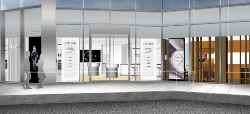 「シチズンウオッチグループ」初の旗艦店、東京・銀座にオープン