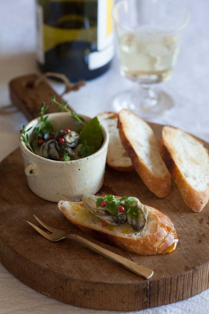 <La Cuillère de marie claire style>第8回 牡蠣のオイルマリネ