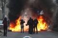 ドイツで反緊縮デモが暴徒化、数十人負傷 ECB新本部に抗議