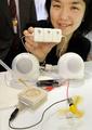ブドウ糖で発電するバイオ電池、ソニー