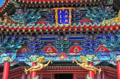 瀋陽故宮、大政殿など古建築の修繕完了 瀋陽の故宮博物院