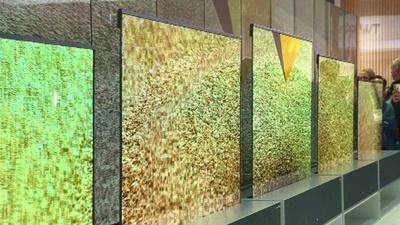 動画:「巻けるテレビ」「折り曲げ可能のタブレット」登場 米家電見本市CES