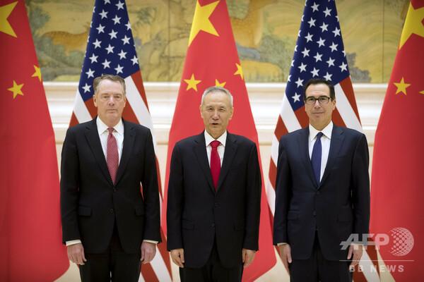 米中、貿易問題で閣僚級の電話会談 首脳会談は未定