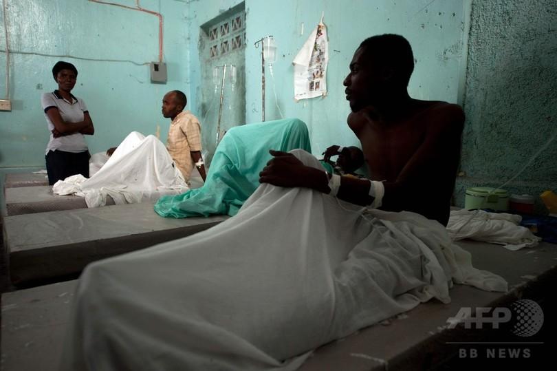 ハイチのコレラ大流行、国連がようやく責任認める