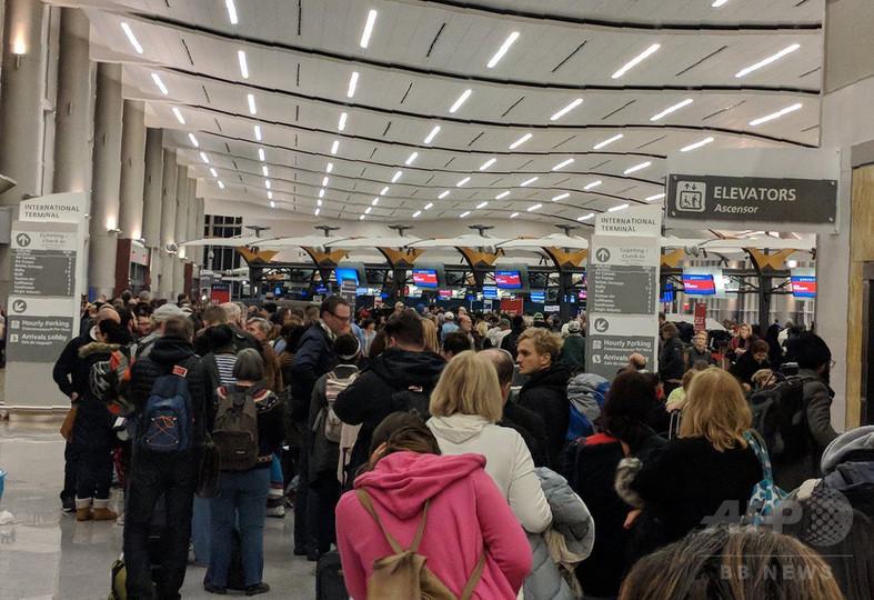 「世界一忙しい」米アトランタ空港の停電、11時間後に復旧