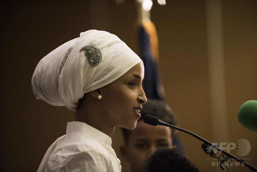 元難民の米議員、首都のタクシー内でイスラム嫌悪の暴言被害