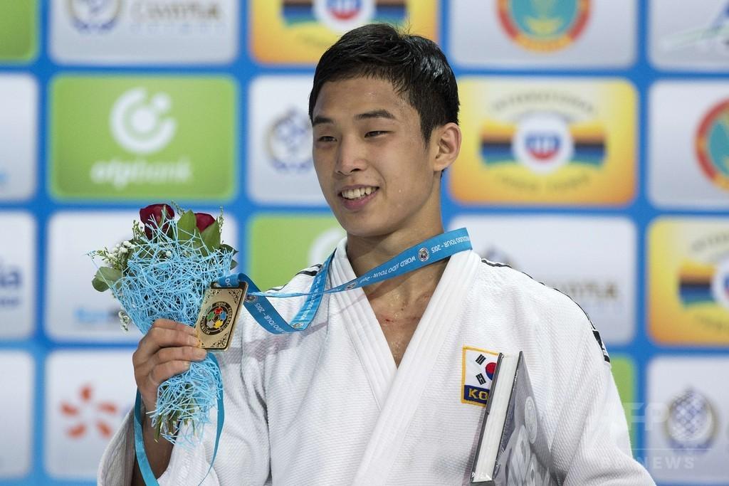 新星アン・バウルが男子66キロ級で優勝、世界柔道