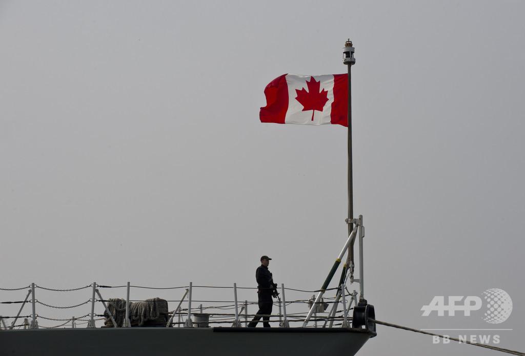 ギリシャ沖でカナダ軍ヘリ墜落、1人死亡 5人不明
