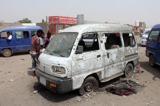 イエメン内戦、UAEがアデン空爆を認める 標的は「テロ組織」