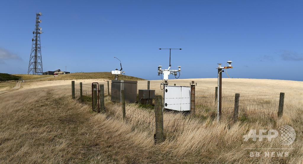 「世界一きれいな空気」を測定、豪グリム岬の観測所
