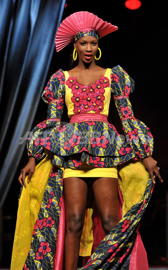 ダカール・ファッションウィーク、個性豊かな作品続々