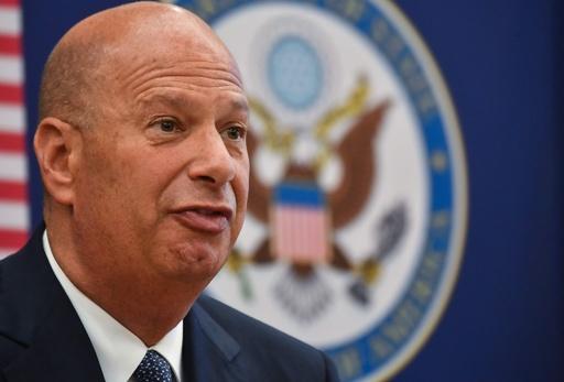 米駐EU大使「トランプ氏が選挙をウクライナ外交に持ち込んだ」 下院証言